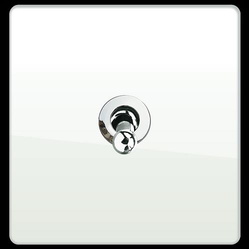 """Interrupteur design """"Retro"""" Blanc Laqué"""