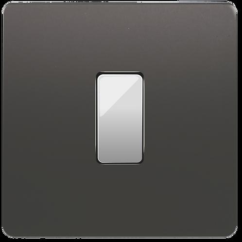 "Interrupteur design ""Classic"" Etain"