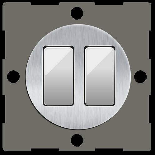 """Interrupteur design """"Classic"""" Double Composable"""