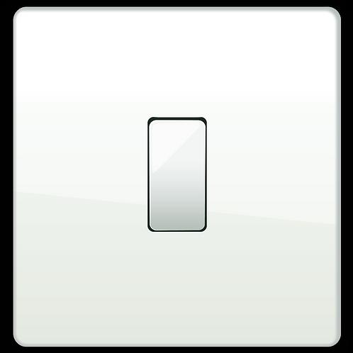 "Interrupteur design ""Classic"" Blanc Laqué"
