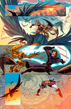 Star Wars - Clone Wars Sample Pages 2-6