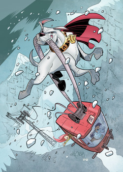 DC Comics- Cryptozoic (USA) - Superman The Legend Series - Krypto