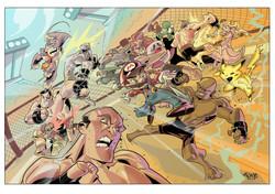 MMA X Games - Commission Art