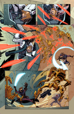 Star Wars - Clone Wars Sample Pages 1-6