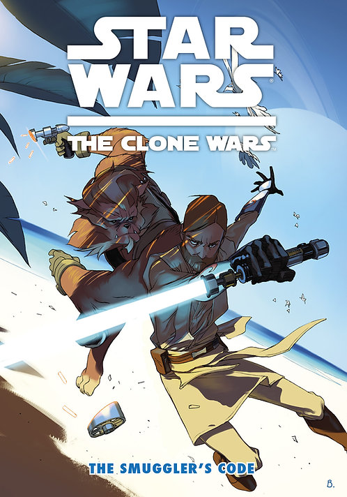Star Wars - The Clone Wars - The Smuggler's Code - 13,5 x 19 - 84 Páginas