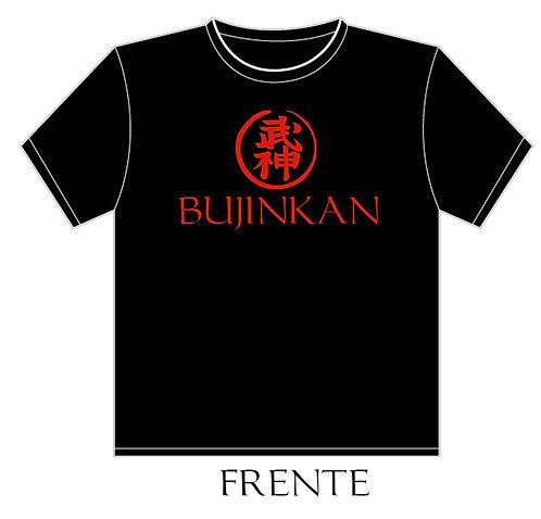 Camiseta Bujinkan Sessei Dojo T-shirt Preta - Masc - Tamanhos: P - M - G - GG