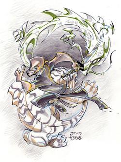 Ninja Sensei_art