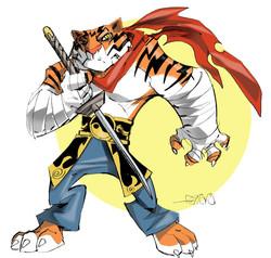 Tiger Warrior Concept