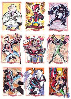 Marvel-Rittenhouse (USA) Spider Man Series 3
