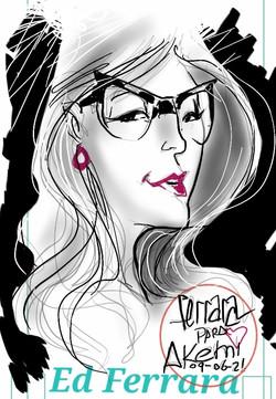 Sketch Akemi
