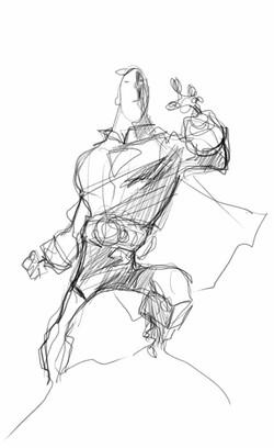 Super Herói Sketch