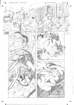 Marvel x DC Sample Pages 1-3