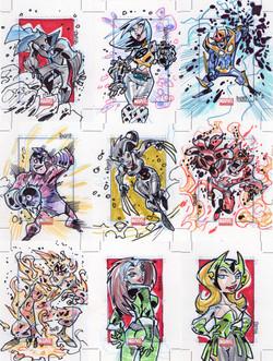 Marvel-Rittenhouse (USA) Marvel Universe Series 3
