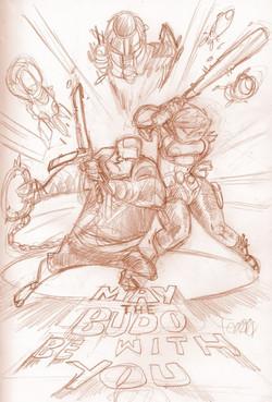 Martial Sketch