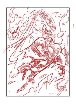 Sketch_Superman Blue Card 3