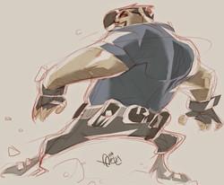 Dan Cazarro Sketch