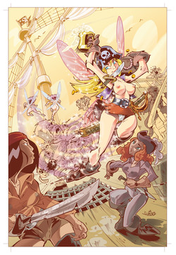 Pirate Fairy__Commission Art