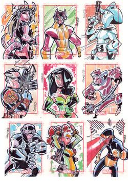 Marvel-Rittenhouse (USA) Marvel Heroes Series 4