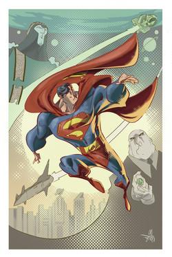Superman - John Byrne - PinUp