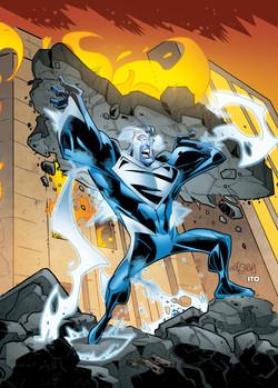 DC Comics- Cryptozoic (USA) - Superman The Legend Series - Superman Blue
