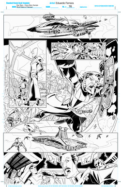Star Wars - Clone Wars Sample Pages 4-6