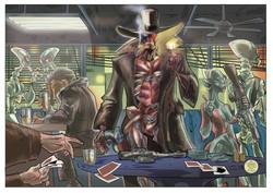 Iron Maiden Commission Art