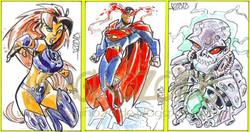 DC Comics Art Sample