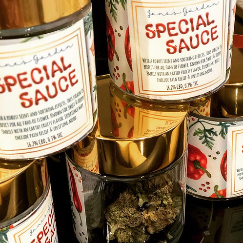 Jane's Garden Special Sauce CBD Hemp