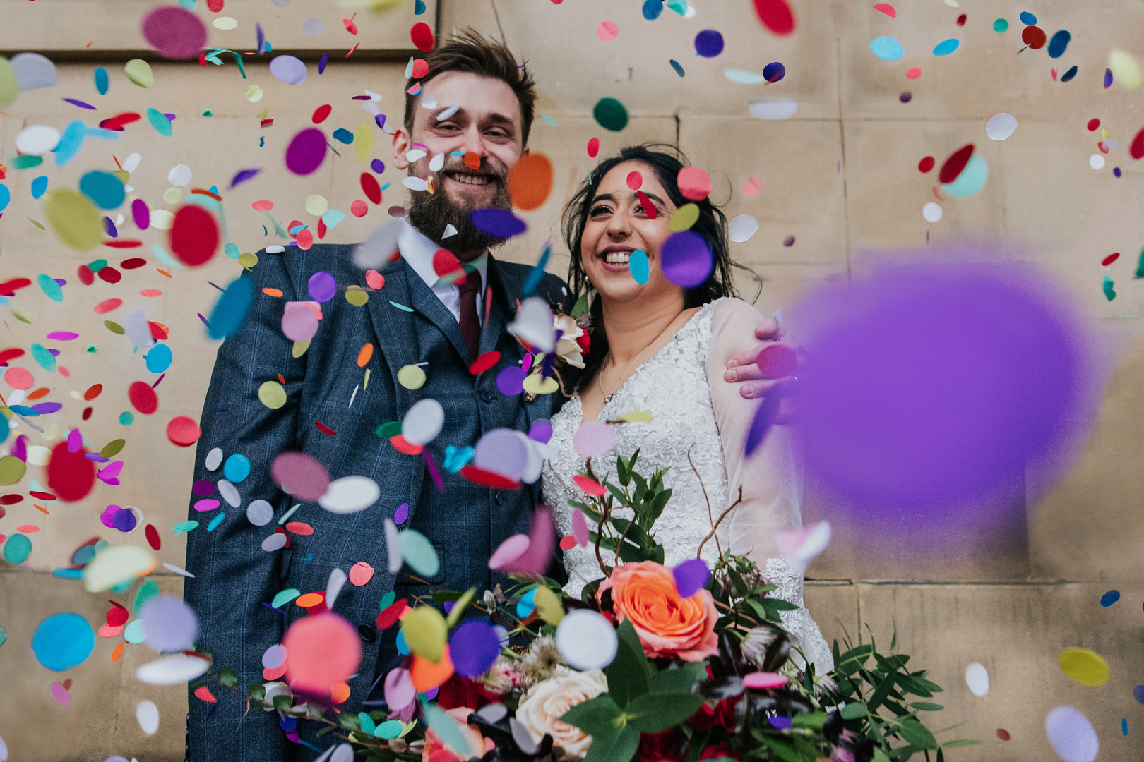 Birmingham wedding photographer at Leeds town hall .jpg