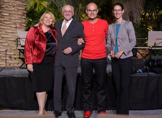 mit Lea Linster, Alfred Biolek, Bettina Gräfin Bernadotte