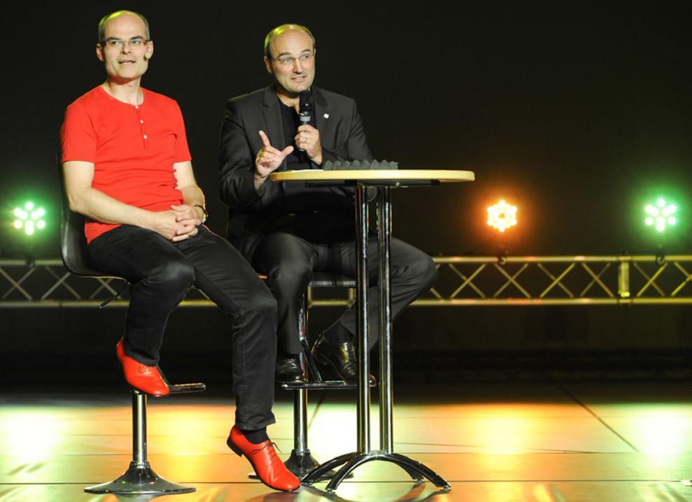 Ulrich Rüdiger mit Tobias Bücklein