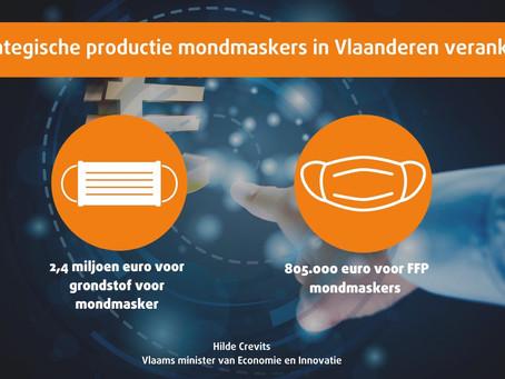 Het Limburgse bedrijf Eurofilters bouwt mee aan de strategische productie van mondmaskers.