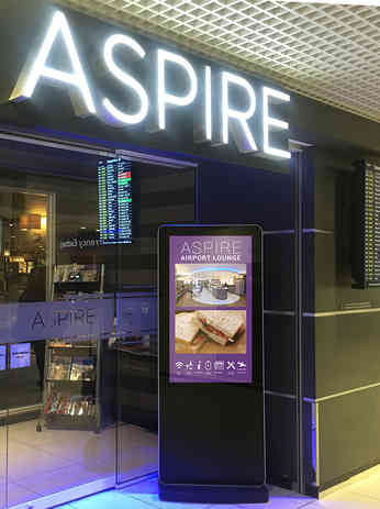 Android Freestanding Display - Aspire Lo