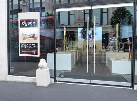 Hanging Double-Sided Window Displays - A