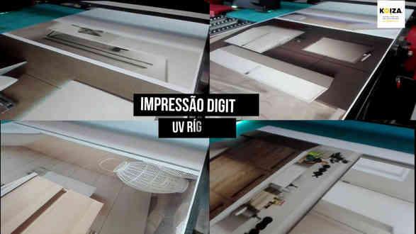 impressão UV direta