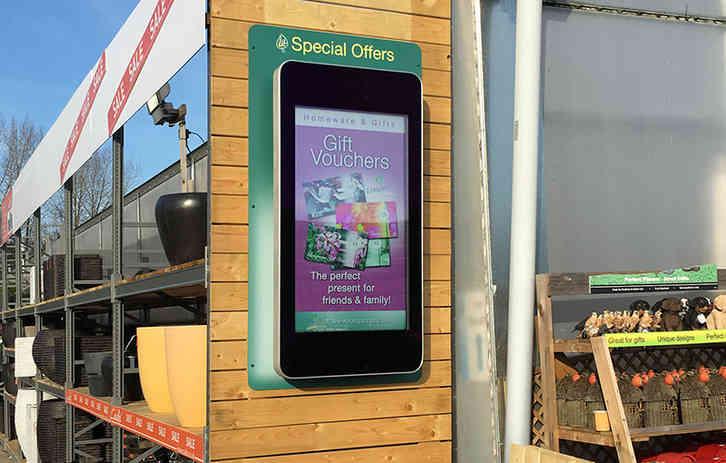 Outdoor Advertising Display - Garden Cen