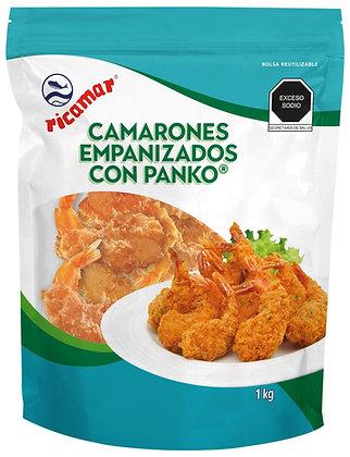 Camarones Empanizados con Panko