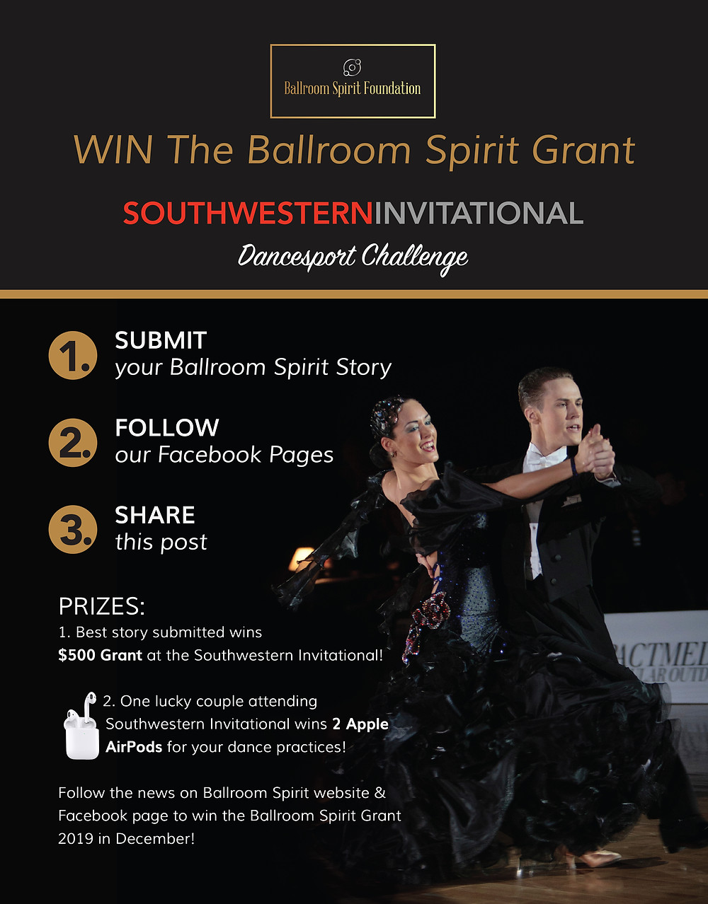 Southwestern Invitational Dancesport Challenge Flyer