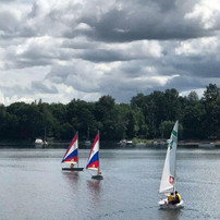 Cloudy Skies Above Willamette Sailing Club