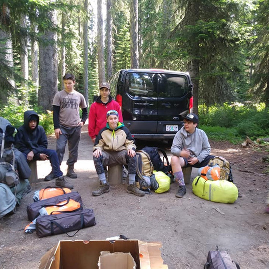 Last Morning at the Campsite - Off to Backpacking!