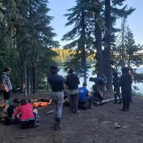 Dusk at Camp