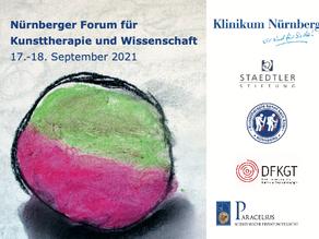 1. Nürnberger Forum für Kunsttherapie und Wissenschaft am 17./18. September 2021