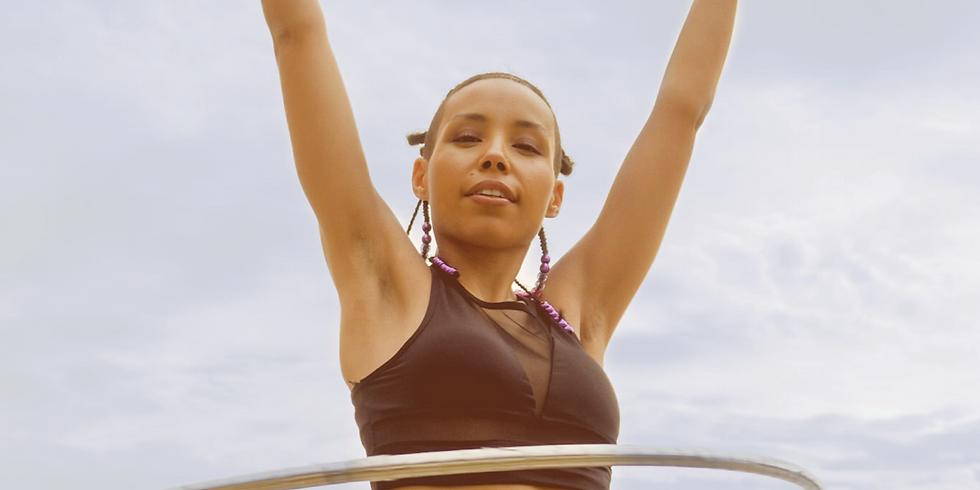 Zbu's Ultimate Waist Control Hoop Dance Workout