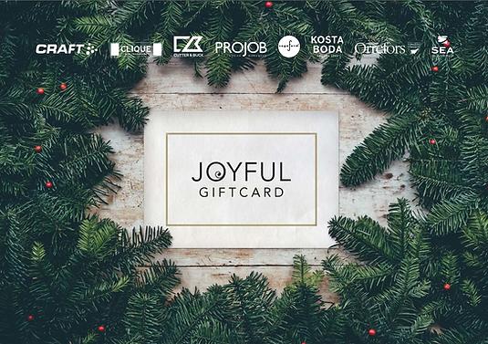 Joyful-yrityslahjakortti