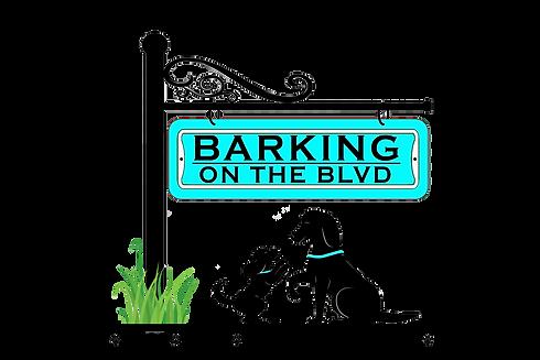 Barking on the BLVD Logo