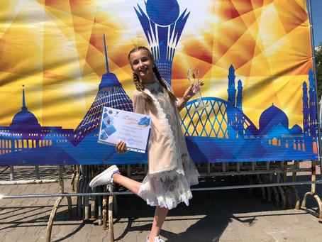 """Валерія Христюк отримала Гран-Прі фестивалю""""Shattyk"""""""