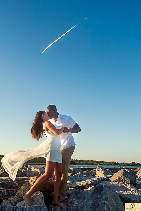 engagement photography cocoa beach fl (1