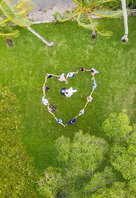 drone wedding photographes cocoa beach, fl