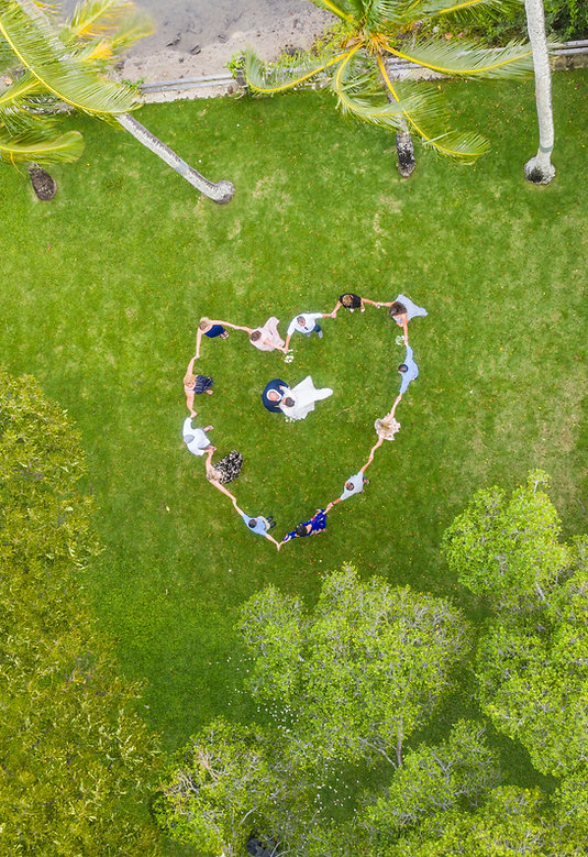 Drone wedding photographers Orlando, fl