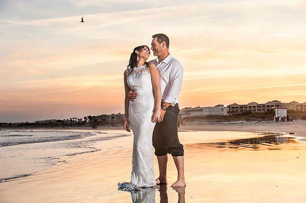Intimate wedding photographers Cocoa bea